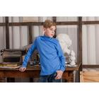 Водолазка для мальчика, рост 152 см, цвет голубой CAJ 61164
