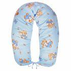 Подушка многофункциональная для беременных и кормящих женщин, цвет голубой «Мёд»