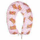Подушка многофункциональная для беременных и кормящих женщин, цвет розовый «Спящие мишки»