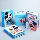 """Набор 2 фотоальбома на 36 фото + памятная коробочка """"Сокровища нашего малыша"""", Дисней Бейби Микки Ма"""