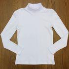 Водолазка для девочки, рост 152 см, цвет белый CAJ 61147
