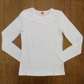 Блузка для девочки, рост 152 см, цвет белый CAJ 61635