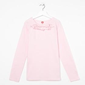 Блузка для девочки, рост 140 см, цвет розовый CAJ 61635