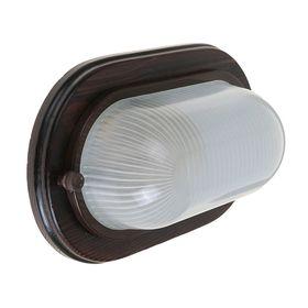 Светильник для бани/сауны ITALMAC Termo 60 20 16, 60 Вт, IP54, цвет венге, до +130°C Ош