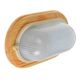 Светильник для бани/сауны ITALMAC Termo 60 20 18, 60 Вт, IP54, цвет береза, до +130°C Ош
