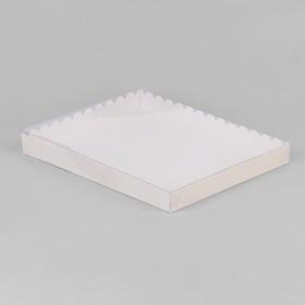 Коробочка для печенья 23,5 х 30 х 3 см