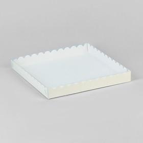 Коробочка для печенья 25 х 25 х 3 см Ош