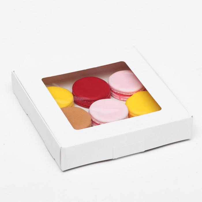 Коробка самосборная бесклеевая, 16 х 16 х 3 см