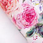 Бумага упаковочная глянцевая «Летние цветы», 70 х 100 см