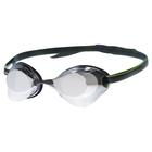 Очки для плавания стартовые Turbo Racer II Mirror, цвет чёрный