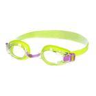 Очки для плавания детские Bubble, цвет салатовый