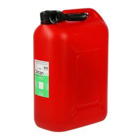 Канистра ГСМ, 25 л, пластиковая, красная
