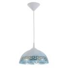 """Светильник Колпак """"Класи"""" 1 лампа E27 40Вт белый-синий д.250"""