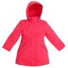 """Куртка для девочки """"Глория"""", рост 134 см, цвет малиновый"""