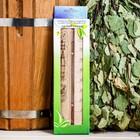 Деревянный термометр для бани и сауны
