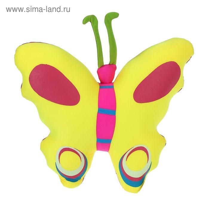 "Мягкая игрушка-антистресс ""Бабочка с усиками"", цвета МИКС"