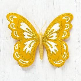 """Магнит """"Бабочка кружевница"""" 8х6,5 см"""