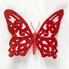 "Магнит ""Бабочка узорная"" 8х6,5 см"