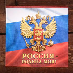 Футляр для бумаги с карандашом 'Россия - Родина моя', 100 листов Ош