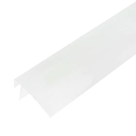 Профиль F-образный широкий 60мм для ПВХ панелей 10мм
