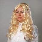 """Карнавальный парик """"Блондинка"""", длинные волосы, 140 г"""