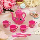 """Набор посуды для игры """"Чаепитие на 4 персоны"""", 7 предметов, Принцессы"""