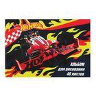 Альбом для рисования 40 листов на скрепке Mattel Hot Wheels