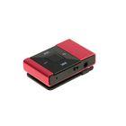 Mp3 плеер с поддержкой карт microSD, клипса, розовый