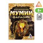 """Книга-игра поисковый квест """"Похищение Мумии Фараона"""", 22 странцы"""