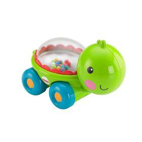 Развивающая игрушка 'Черепашка, бегемотик, тигрёнок, слонёнок' с прыгающими шариками, МИКС Ош