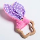 Развивающая игрушка-грызунок «Для маленьких принцесс», форма звезда, цвета МИКС