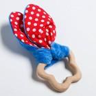 Развивающая игрушка-грызунок «Для маленьких джентльменов», форма звезда