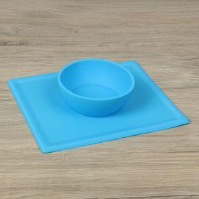 """Тарелка-коврик для кормления """"Симплекс"""" 22,4х26х5,5 см, цвета МИКС"""