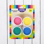 Пальчиковые краски, 4 цвета по 30 мл