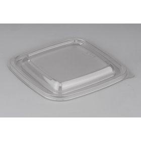 Крышка к контейнеру Сп-1212К, квадратная, прозрачная, 12,6х12,6х1,3 см