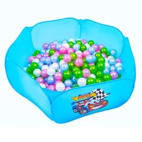 Шарики для сухого бассейна «Перламутровые», диаметр шара 7,5 см, набор 100 шт.