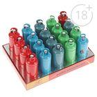 Зажигалка газ канистра пластик, металл, цвет микс, 8*3см