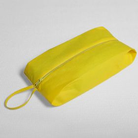 Сумка для обуви на молнии, 1 отдел, цвет жёлтый Ош