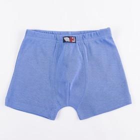 Трусы-боксеры для мальчика, рост 92 см, цвет синий CAK 1360