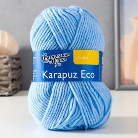 Пряжа Karapuz Eco (КарапузЭко) 90% акрил, 10% капрон 125м/50гр (3 голубой)