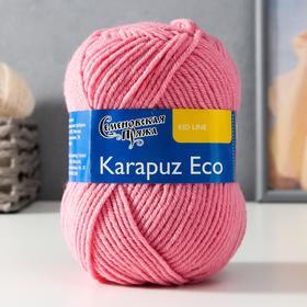 Пряжа Karapuz Eco (КарапузЭко) 90% акрил, 10% капрон 125м/50гр (64 клевер)