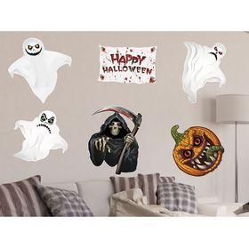 """Набор для оформления Хеллоуина """"Призраки"""" 6 предм."""