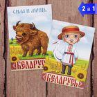 """Магнит двухсторонний """"Беларусь"""""""