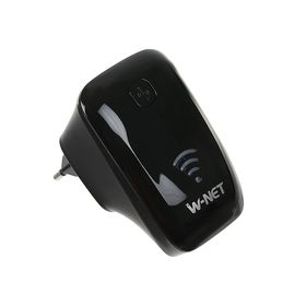 Беспроводной WiFi ретранслятор Gembird WNP-RP-002-B 300Mbps, чёрный