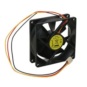 Вентилятор Gembird, 80x80x25, подшипник, 3 pin, провод 30 см