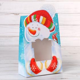"""Складная коробка """"Новогодние подарки!"""", 15 х 7 х 22 см"""