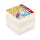 Блок бумаги для записей 9*9*9 см цветной, EK 5140