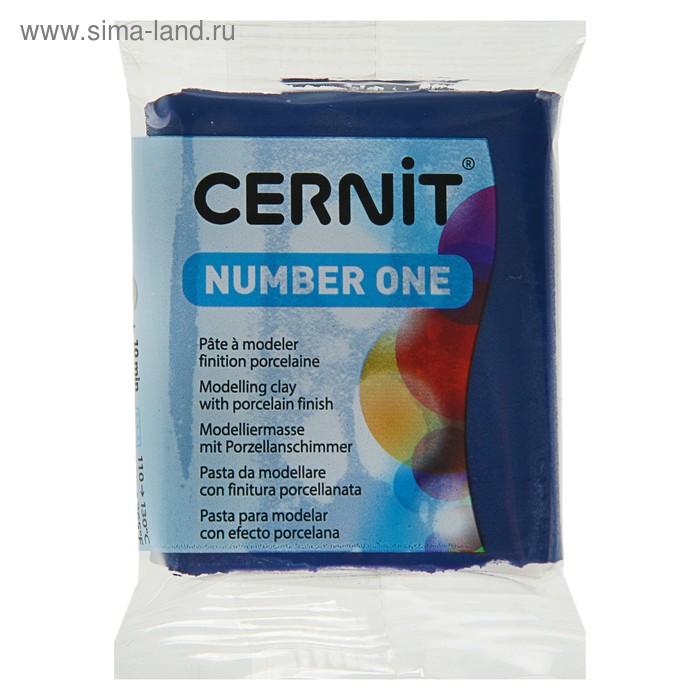 Полимерная глина запекаемая 56г Cernit Number One темно-синий 246 CE0900056246