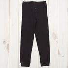 Кальсоны для мальчика, рост 104 см, цвет чёрный CWK 1040