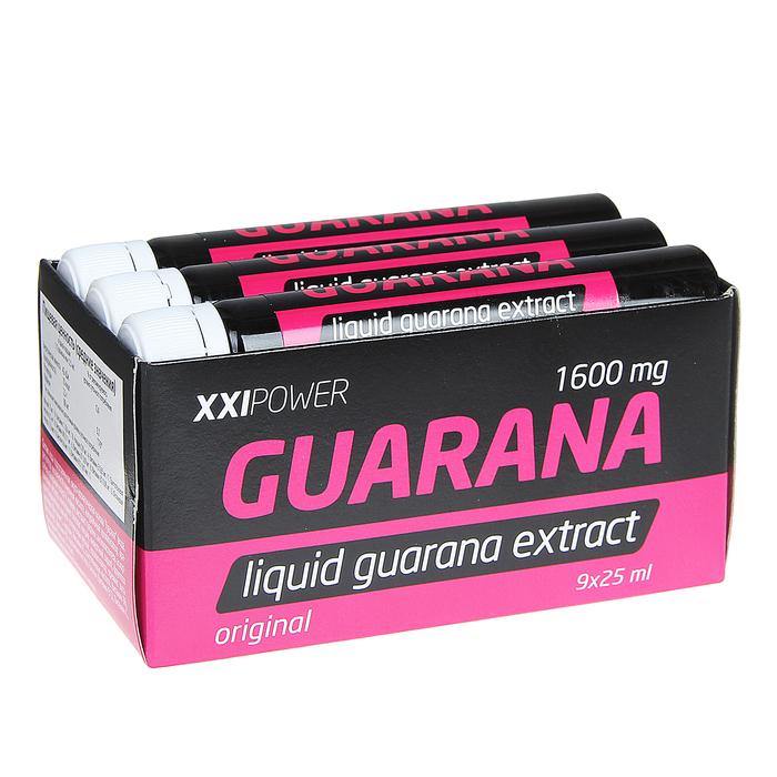 Экстракт гуараны 1600 мг набор 9 флаконов по25 мл   1364269